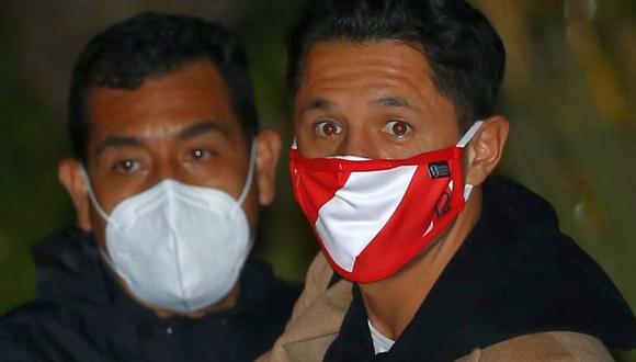 Gianluca Lapadula arribó el domingo a Lima. (Foto: GEC)