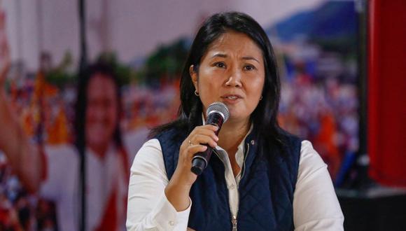 Keiko Fujimori lidera voto extranjero. Foto: AFP / Gian MASKO