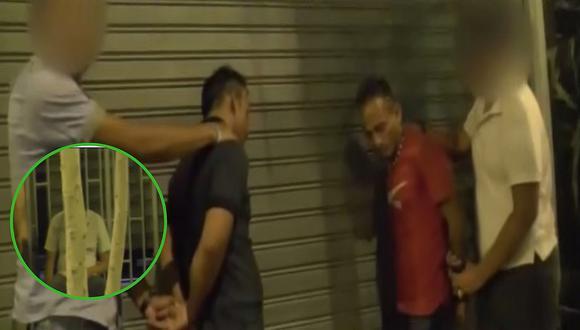 """Delincuentes robaban a """"borrachitos"""" en Centro de Lima (VIDEO)"""