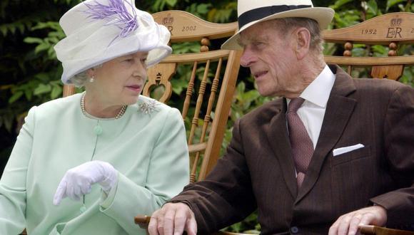 La reina Isabel II y el príncipe de Edimburgo mantuvieron su matrimonio por 73 años. (Foto: AFP)