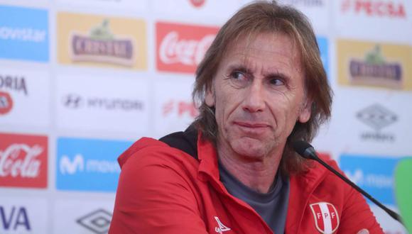 Ricardo Gareca es entrenador de la Selección Peruana desde el 2015. (Foto: EFE)