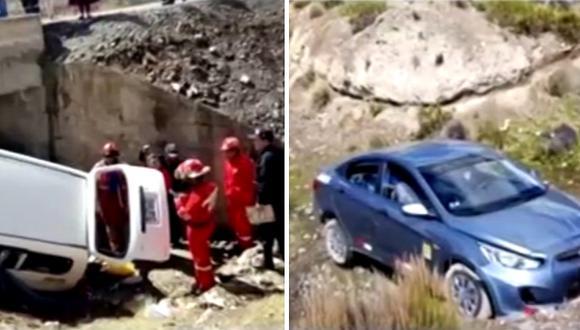 Tres personas mueren por choque en la carretera de Moquegua a Puno (VIDEO)