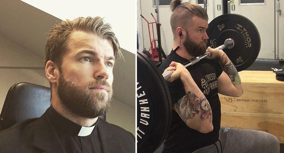 Instagram: crossfitpriest