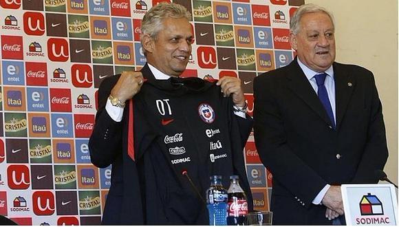 Reinaldo Rueda fue oficializado como técnico de la selección de Chile