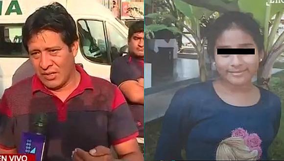 Padre de menor hallada muerta permanece en la Dirincri rindiendo su manifestación