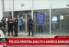 Comas: capturan a delincuente que asaltó a cliente en agencia bancaria de Av. Universitaria