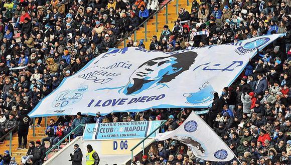 """Maradona: """"Después de 30 años sigo con el mismo amor por Nápoles"""""""