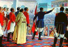 Los próceres de la Independencia del Perú