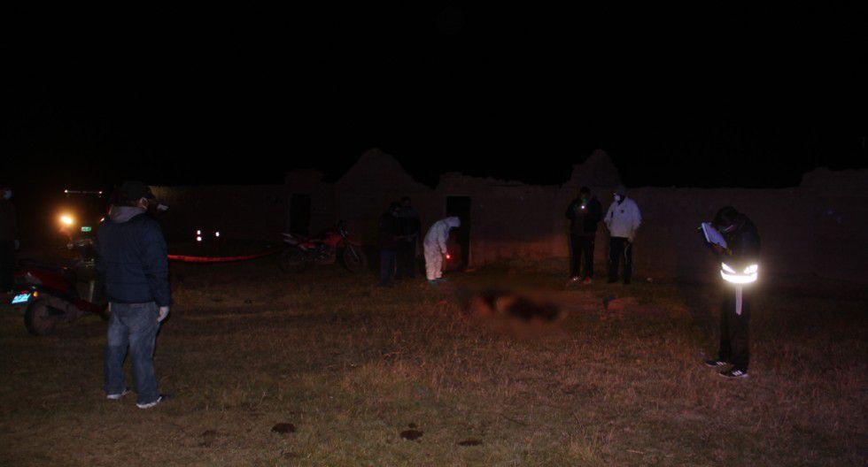 Puno: Matan a hombre de 72 años a pedradas por evitar el robo de su motocicleta en la puerta de su casa.