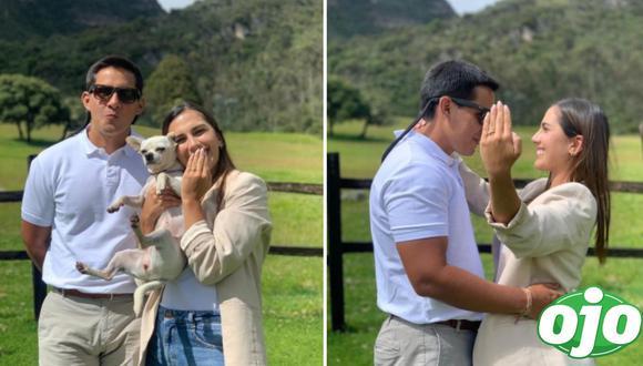 Manuela Camacho se comprometió con su novio. Foto: (Instagram/@manuela_camacho).