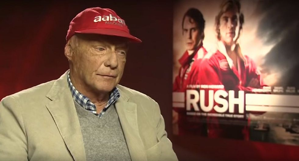 Muere Niki Lauda, triple campeón de Fórmula 1 y el mejor de todos (VIDEO)