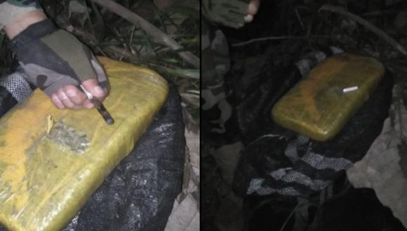 Huánuco: encuentran más de 130 kilos de marihuana escondidos entre la vegetación (Foto: PNP)