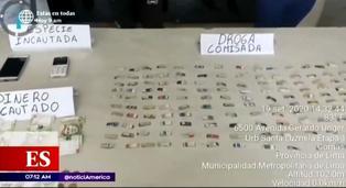 Detienen a madre e hija que vendían droga en carretilla de frutas