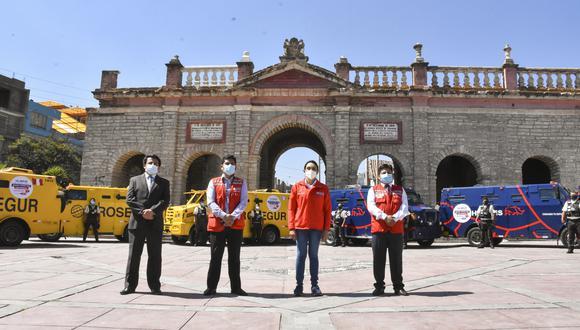 """Ayacucho: """"carritos pagadores"""" iniciarán pago de Bono Familiar Universal desde el 30 de octubre (Foto: Midis)."""