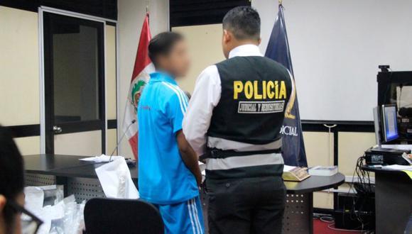 El adolescente aceptó los cargos tras ser detenido por la Policía. (Foto: Corte Superior de Justicia de Lima Norte/Twitter)