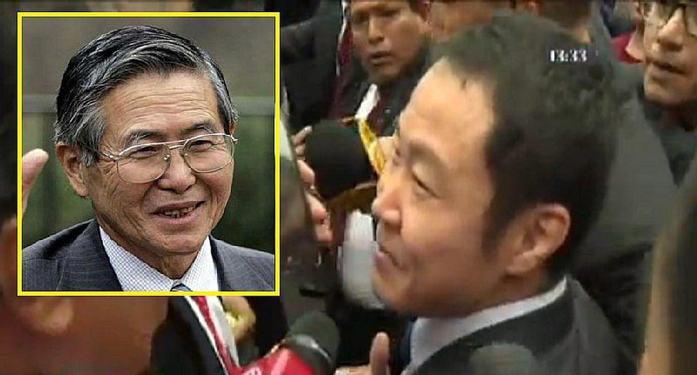 Fiestas Patrias: Kenji Fujimori se emociona al recordar a su padre y lo imita (VIDEO)