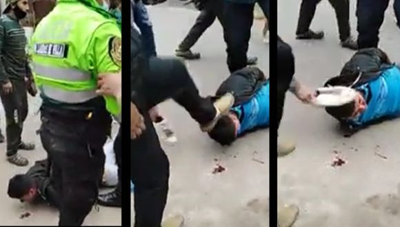 Conductor de mototaxi fue capturado tras una persecución. (Captura de video)