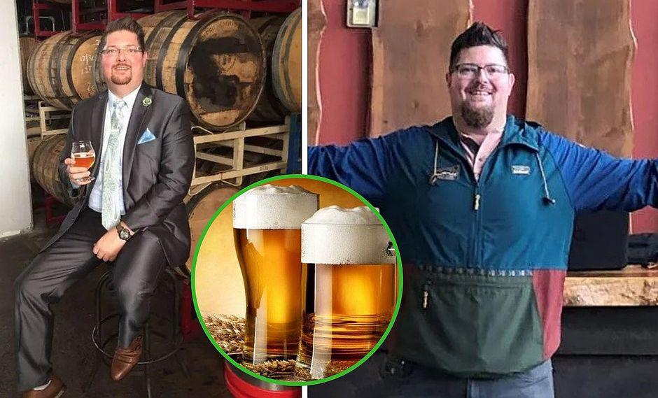 Hombre hace la dieta de la cerveza y baja 20 kg en 45 días (VIDEO)