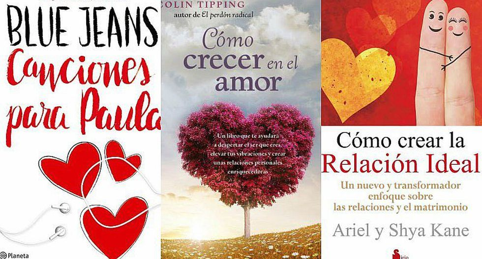 ¡Awww! 7 libros para regalar a tu pareja en San Valentín