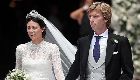 Alessandra de Osma: el vestido que lució para casarse con el príncipe de Hannover