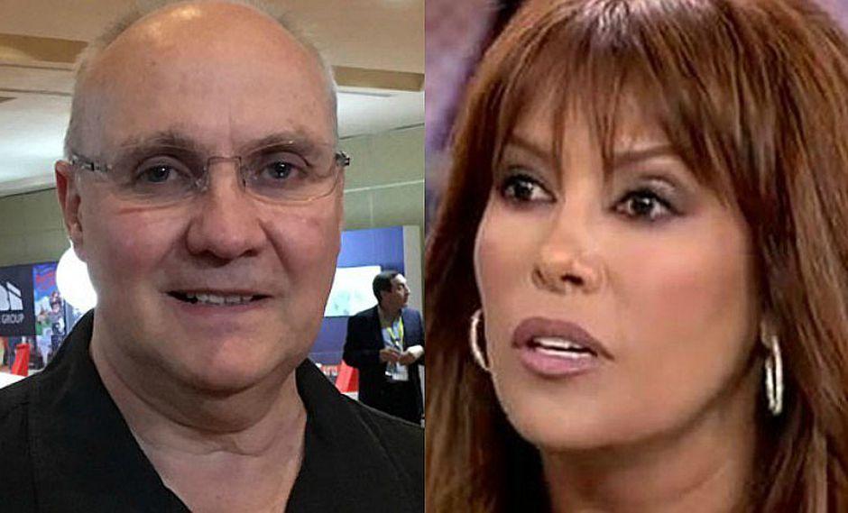 Eric Jurgensen responde a Magaly Medina sobre bajo rating en televisión