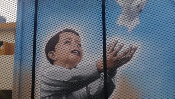 Estos murales son pintados por internos (Foto: INPE)