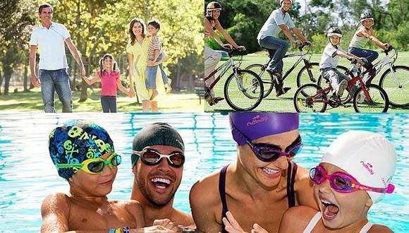 Tres deportes para compartir con la mejor compañía: la familia