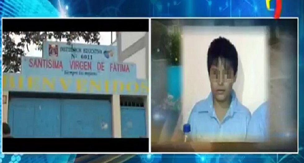Escolar muere atragantado en colegio de VMT (FOTOS)