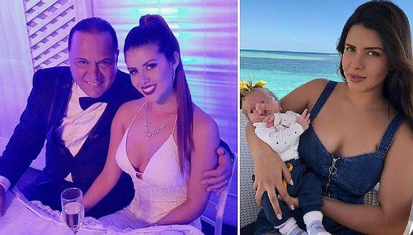 Antonella de Groot publica foto inédita del momento en que vio a su bebé al dar a luz