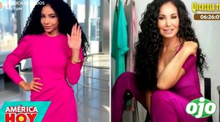 Janet Barboza es comparada con Cheslie Kryst, conductora en el Miss Universo | VIDEO