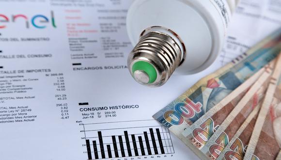 Bono de electricidad. (Foto: GEC)