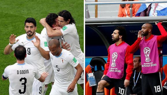 Uruguay mete golazo y gana 1 a 0 contra Egipto en Rusia 2018 (VIDEO)