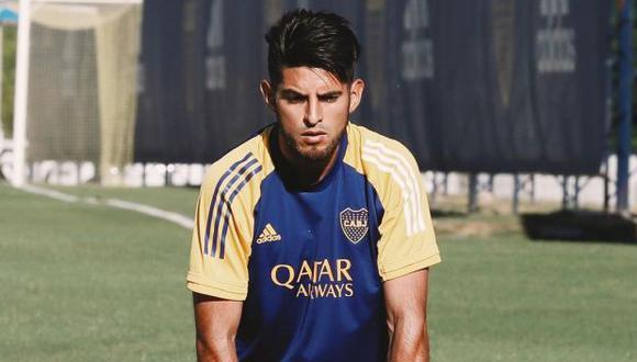 Carlos Zambrano se recuperó y volvió a entrenar. (Foto: Boca Juniors)