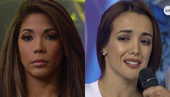 Karen Dejo le pide a Rosángela Espinoza que deje de presumir sus estudios