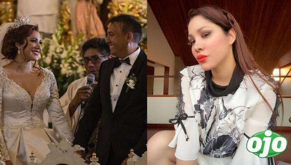 Magaly Medina habló también del matrimonio de Lesly Castillo, el cual a su parecer es muy bueno. (Foto: Captura ATV / Instagram @leslycastilloof).