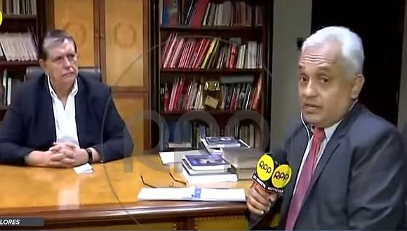 Periodista que entrevistó a Alan García horas antes de su muerte contó cómo lo vio (VIDEO)