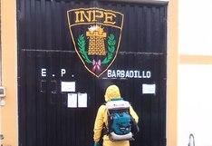 Coronavirus en Perú: Desinfectan ambientes del penal Barbadillo donde está Alberto Fujimori   FOTOS