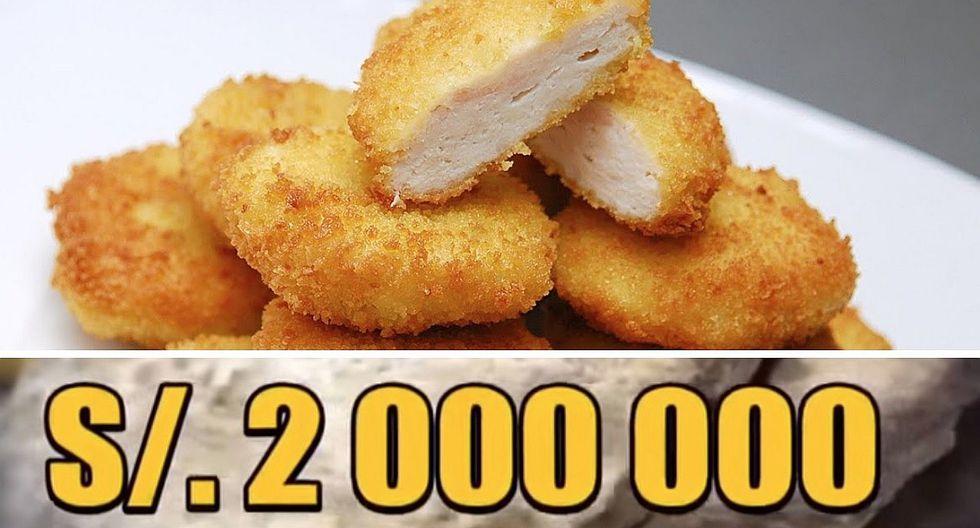 Indecopi multa a conocida empresa por vender nuggets que no solo tenían pollo (VIDEO)