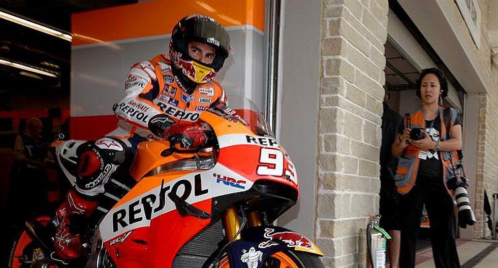 MotoGP: Marc Márquez sale primero en el Gran Premio de las Américas