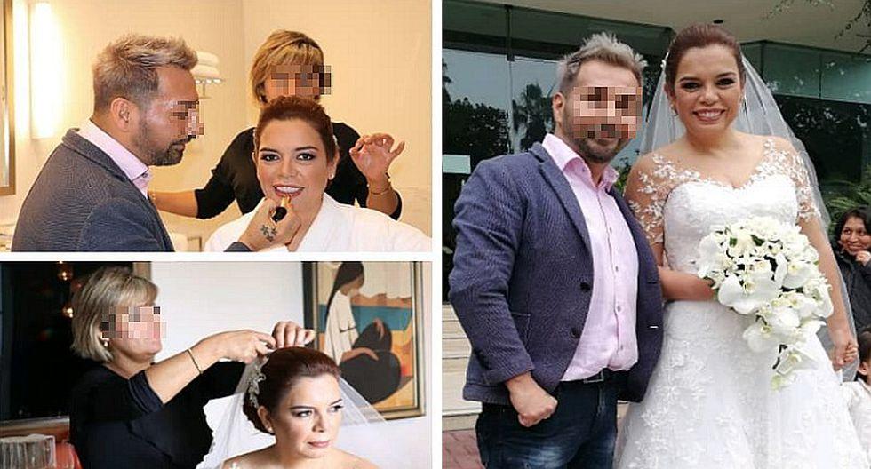 Las fotos más emotivas de la boda de Milagros Leiva que se casó con empresario en Miraflores (FOTOS)
