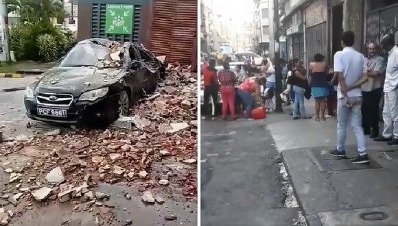 Así se registró el fuerte terremoto de 7.7 grados en Venezuela y Trinidad y Tobago (VIDEO)