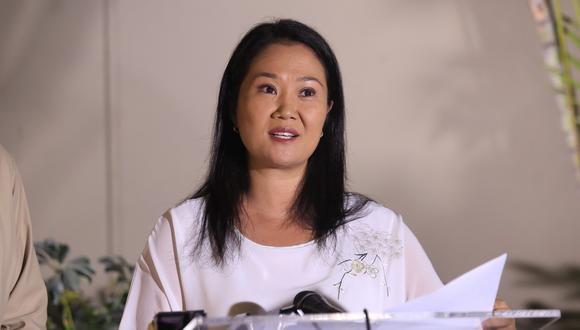Elecciones 2021: Keiko Fujimori confirma que Patricia Juárez se incorpora a su equipo  (Foto: GEC)