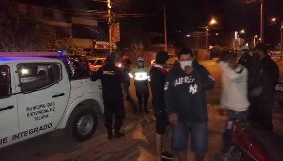 Piura: intervienen a 30 personas bebiendo licor en cantinas de Talara Alta (Foto: Municipalidad Provincial Talara)