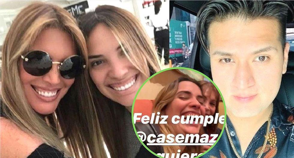 "Jessica Newton ""trolea"" a su hija Cassandra con Deyvis Orosco al pedir deseo de cumpleaños"