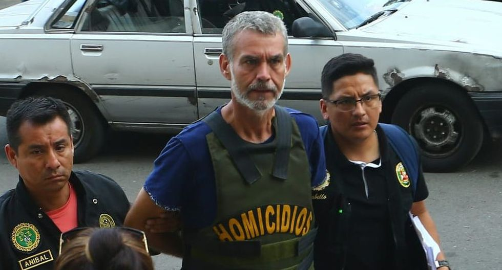 Víctor Albrecht detenido.