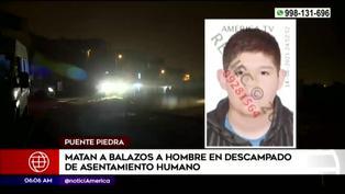 Hombre es asesinado a balazos en un terreno descampado en Puente Piedra
