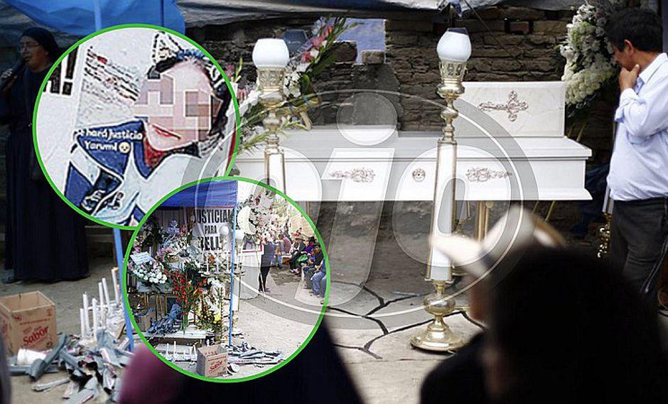 Amiguitos y familiares de niña asesinada en Barranca la velan en medio del dolor (VIDEO)