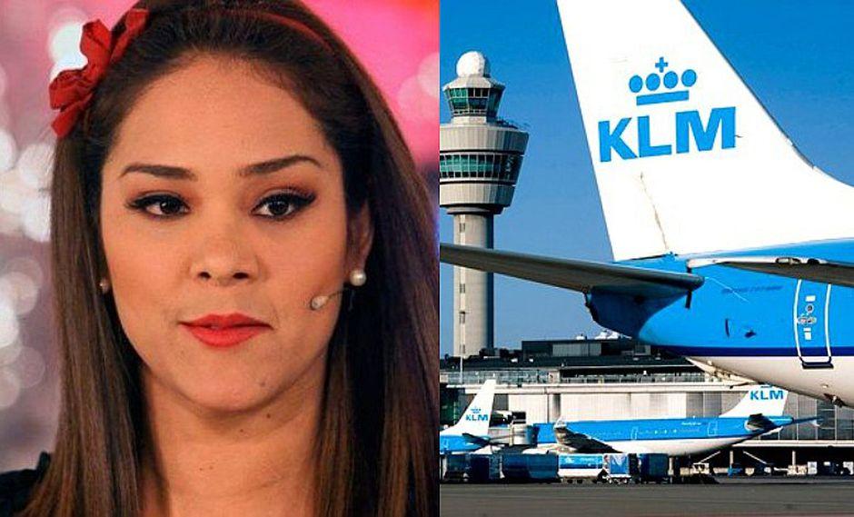 Karen Schwarz denuncia a KLM la pérdida de su maleta