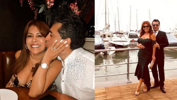 Magaly Medina y Alfredo Zambrano se casaron el 9 de diciembre del 2016 y luego de cinco años de relación. (Foto: Instagram)