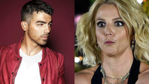 ¿Joe Jonas se fue de boca al hablar de Britney Spears?